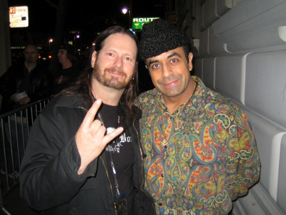 Arash w/ Gary Holt (left)