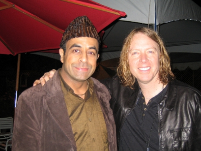 Arash w/ Jeff Pilson (right)